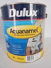 4ltr Dulux Aquanamel Gloss white - New