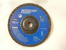 NEW (20 WHEELS) NORZON III FOUNDRY 3 X 1/8 X 3/8 GRINDING WHEEL #66243531500