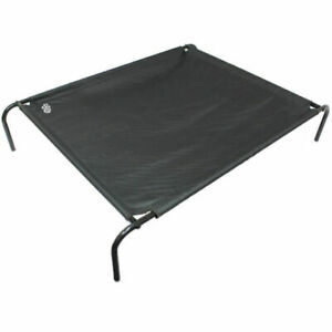 Me & My Pets Large Raised Dog Bed and Frame - Black