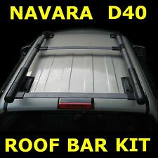 Roof Bar Kit for Nissan Navara D40 Frontier Pickup Double Cab Aventura Outlaw