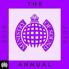 MINISTRY OF SOUND: THE ANNUAL 2018 - NEW CD COMPILATION