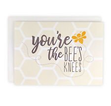 Set of 10 You're the Bees Knees Everyday Note Cards, Boxed Stationery Set