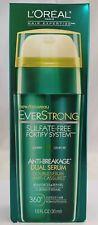 Loreal Everstrong Anti Breakage Dual Serum Reinforces Repairs Sulfate Free 30ml