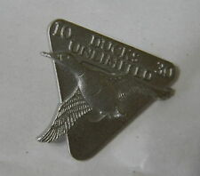 DUCKS UNLIMITED LAPEL PIN - 10-30  Year Anniversary Charter Member