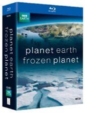 Planet Earth + Frozen Planet Blu-ray Region B New (8 Discs David Attenborough)