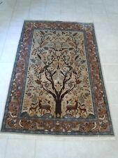 Hand Knotted Oriental Rug - Circa 1980
