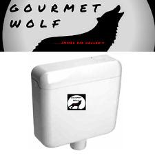 Format Pagette WC Aufputz Spülkasten 9 liter Farbe manhattan - grau