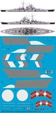 Peddinghaus 1/200 Bismarck Battleship Markings w/Camouflage Op. Rheinubung 3513