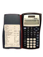 Texas Instruments Ti-30x Iis Scientific Calculator Lcd Ti30xiis, works great