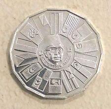 Rm10 Rancangan Malaysia 1976 Ke-3 silver coin # 128