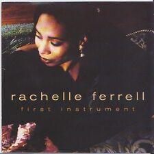 RACHELLE FERRELL - FIRST INSTRUMENT CD 11 TRACKS VOCAL JAZZ/ROCK 'N' ROLL