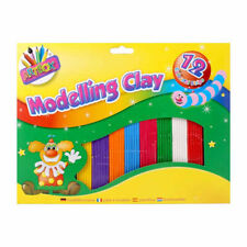 Modelling Clay - Moulding Character Colour Bright Kids Crafts School Art Strips
