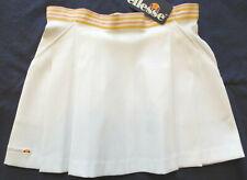 ELLESSE Pleated Tennis Golf Running Athletic Skirt, White, Size 8, NWT