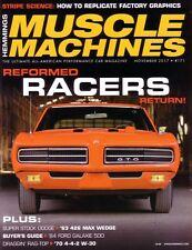 HEMMINGS MUSCLE MACHINES November 2017 '70 GTO Judge '63 Mopar 426 Max Wedge