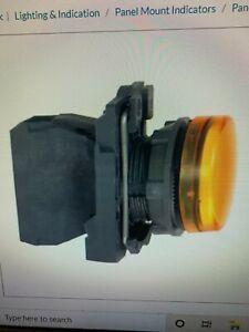 Schneider Electric XB5AVG5 22mm Amber Pilot Light 120Vac LED