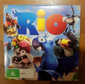 Rio (DVD, 2011) Jesse Eisenberg, Anne Hathaway, George Lopez