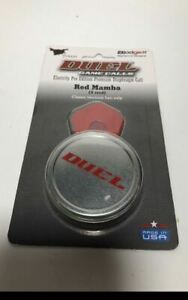 Blodgett By Duel Game Call Red Mamba Turkey Diaphragm Call Class 2-Tone Hen Yelp