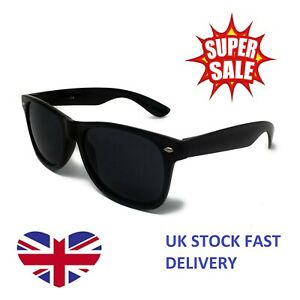 Classic Multi Sunglasses Lens Mens Ladies 80s Womens Retro Vintage Fashion UV400