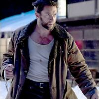 The Wolverine Hugh Jackman Leather Coat Jacket - BNWT