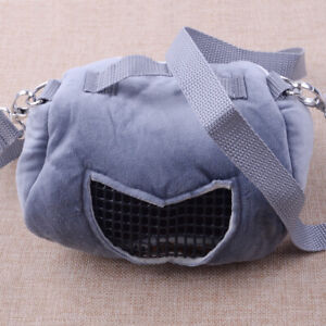 Pet Small Animal Carrier Bag Travel Mesh Bag Hamster Guinea Pig Pouch Bed Bag