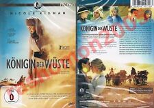DVD QUEEN OF THE DESERT Nicole Kidman Robert Pattinson Damian Lewis Region 2 NEW