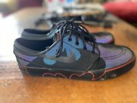 Men's Nike Zoom Batman Stefan Janoski Shoes Size 11.5  Sold Out Rare!