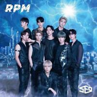 SF9 RPM LIMITED EDITION TYPE A CD + PHOTOCARD JAPAN with Tracking