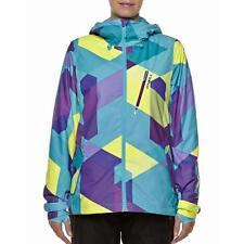 O'NEILL Womens Blue & Purple Cats Eye 8K Waterproof Ski Jacket Large 14 BNWT
