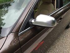 Original linker Audi A4, RS4, S4 Modell B6 Spiegelkappe für Aussenspiegel Alu