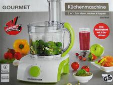 Gourmetmaxx Küchenmaschine 3 in1 zum Mixen, Hacken & Raspeln 350 Watt Neu