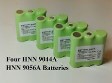 4 MOTOROLA HNN9044A / 9056A Ni-Mh 1100mAh batteries for $47.99,shipping included
