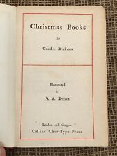 Charles Dickens Christmas Books Illustrations By A.A.Dixon 1909
