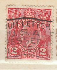 >60 years old - Edward VII - 2d red Australia stamp - see scan