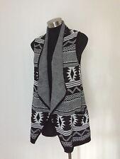 Miss Shop Myer Aztec Sleeveless Cardigan Size 10