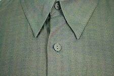 JHANE BARNES Shirt Woven In Japan Mini  Herringbone Hidden Button Down Cotton