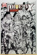 X-Men Phoenix Warsong #1 - Black and White Sketch Variant 2006 **