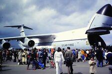 2/28 Lockheed C-5 Galaxy United States Air Force 436th MAW Kodachrome slide