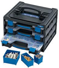 Genuine DRAPER 3 Tray Stacking Organiser Unit 31239