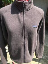 Men's PATAGONIA Better Sweater Fleece Brown Full Zip Jacket Coat Size S