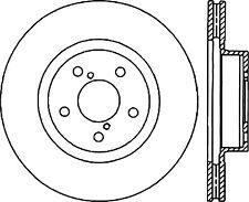StopTech Disc Brake Rotor Front Right for Subaru Impreza, WRX STI / 126.47022CSR