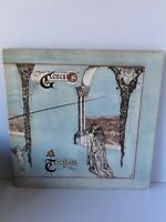 Genesis; Trespass vinyl LP 1970 1st UK press Pink Scoll CAS 1020 A-2U/ B-2U RARE