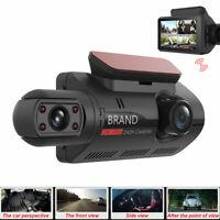 2HC FHD 1080P Dash Cam Recorder Dual Lens Camera HD 1080P Car Vehicle DVR Video