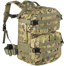 MFH BACKPACK ASSAULT II MILITARY MOLLE WEBBING RUCKSACK HIKING OPERATION CAMO