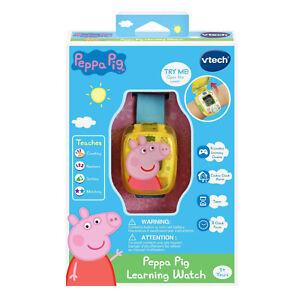 Vtech Peppa Pig Learning Watch Blue