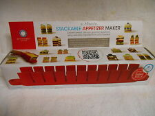 FANTASTIC ARCHITEC APPETIZER MAKER STACKABLE TAKES ONLY 5 MINUTES-NEW