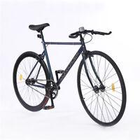 700C Fixed Gear Bike Single Speed Track Bike Fixie Bicycle Road Bike 540mm