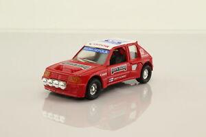 Corgi C399/6; Peugeot 205 Turbo 16; North Racing, Matti Alamaki; V Good Unboxed