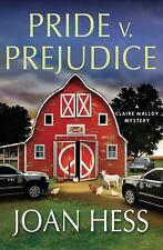 Claire Malloy Mysteries: Pride V. Prejudice 20 by Joan Hess (2015, HC) BRAND NEW