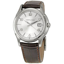 Hamilton Jazzmaster Brown Leather Mens Watch H32411555-AU