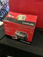 "Lexmark P315 Snapshot Color Inkjet Photo Printer 2.5"" Screen 4"" x 6"""